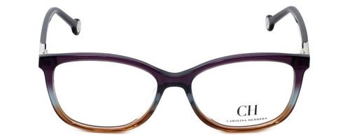 Carolina Herrera Designer Eyeglasses VHE674K-0D78 in Purple-Fade 53mm :: Custom Left & Right Lens
