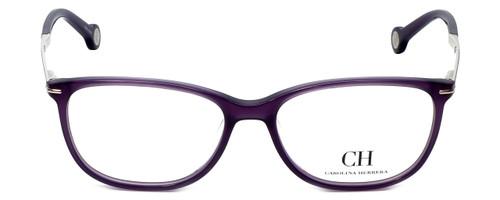 Carolina Herrera Designer Eyeglasses VHE670K-0903 in Purple 53mm :: Rx Single Vision