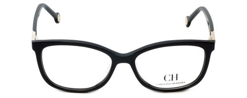 Carolina Herrera Designer Eyeglasses VHE674K-700Y in Black 53mm :: Rx Single Vision