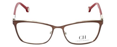 Carolina Herrera Designer Eyeglasses VHE083K-0482 in Brown 54mm :: Progressive