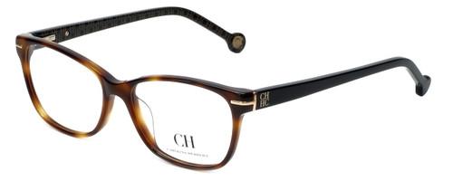 Carolina Herrera Designer Reading Glasses VHE635K-09AJ in Havana 53mm
