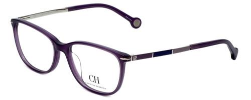 Carolina Herrera Designer Reading Glasses VHE670K-0903 in Purple 53mm