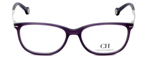 Carolina Herrera Designer Reading Glasses VHE670K-0903 in Purple 53mm
