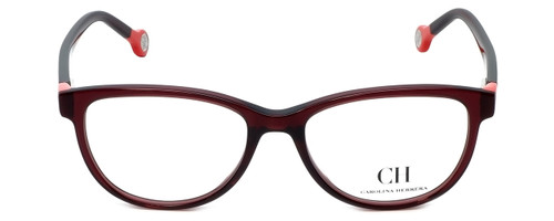 Carolina Herrera Designer Reading Glasses VHE678K-0V01 in Purple 52mm