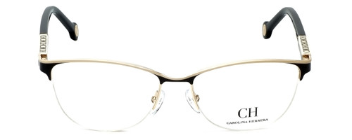 Carolina Herrera Designer Reading Glasses VHE079K-0SNQ in Black-Ivory 53mm