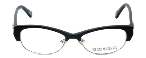 Corinne McCormack Designer Eyeglasses Delancey in Black 53mm :: Custom Left & Right Lens