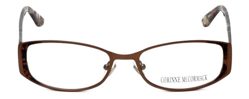 Corinne McCormack Designer Eyeglasses Murray Hill in Brown 52mm :: Rx Single Vision