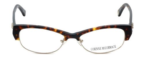 Corinne McCormack Designer Reading Glasses Delancey in Tortoise 53mm