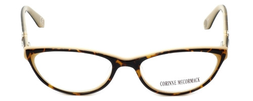 636b6b99d17 Corinne McCormack Designer Reading Glasses Riverside in Tortoise-Peach 52mm