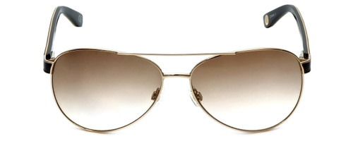 Corinne McCormack Designer Sunglasses Water Mill in Gold 59mm