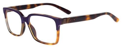 Oakley Designer Eyeglasses Confession OX1128-0252 in Purple-Tortoise 52mm :: Custom Left & Right Lens