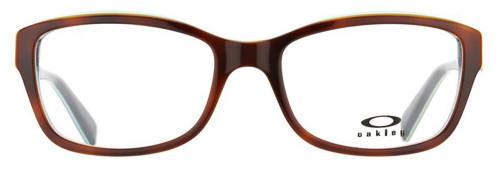 Oakley Designer Eyeglasses Junket OX1087-0252 in Tortoise-Sky 52mm :: Rx Bi-Focal