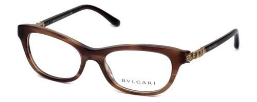 Bvlgari Designer Reading Glasses 4091B-5240 in Brown 51mm