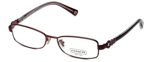 Coach Womens Designer Reading Glasses 'Sande' HC5005 in Burgundy (9037) 51mm