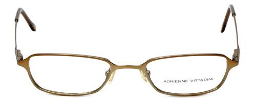 Adrienne Vittadini Designer Eyeglasses AV6027-134  in Gold 47mm :: Custom Left & Right Lens