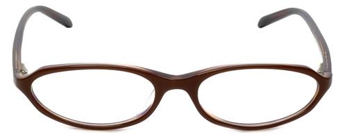 Adrienne Vittadini Designer Eyeglasses AV7014-621 in Brown 50mm :: Rx Single Vision