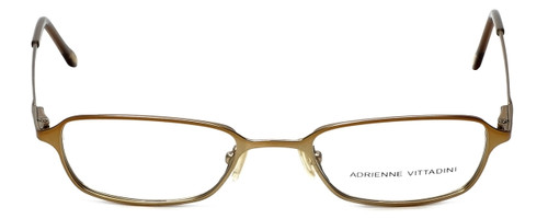 Adrienne Vittadini Designer Eyeglasses AV6027-134  in Gold 47mm :: Rx Bi-Focal