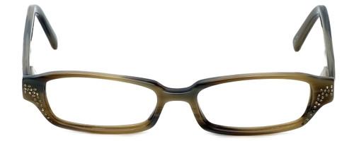 Vera Wang Designer Eyeglasses Splendor in Olive 49mm :: Custom Left & Right Lens