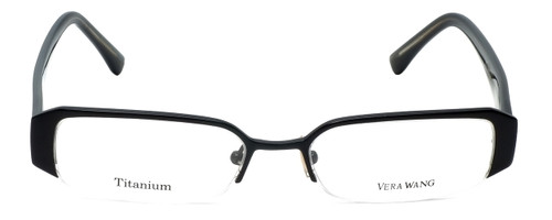 Vera Wang Designer Eyeglasses V013 in Black 51mm :: Custom Left & Right Lens