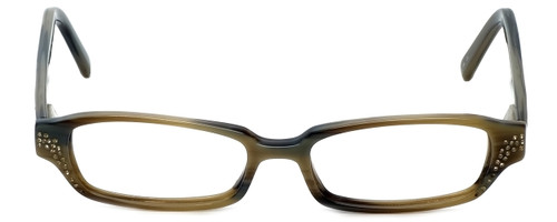 Vera Wang Designer Eyeglasses Splendor in Olive 49mm :: Rx Single Vision