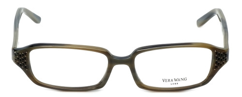 Vera Wang Designer Eyeglasses Soliloquy in Olive 51mm :: Progressive