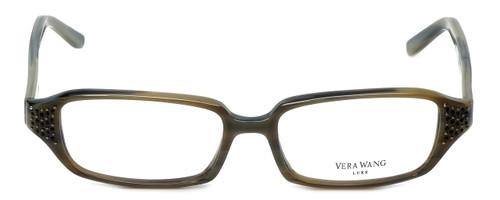 Vera Wang Designer Reading Glasses Soliloquy in Olive 51mm