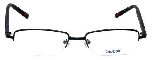 Reebok Designer Eyeglasses R1001-BLK in Black 52mm :: Custom Left & Right Lens