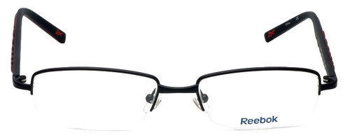 Reebok Designer Eyeglasses R1001-BLK in Black 52mm :: Rx Single Vision