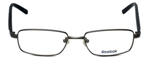Reebok Designer Eyeglasses R1002-GUN in Matte-Gunmetal 51mm :: Rx Single Vision