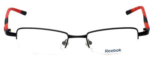 Reebok Designer Eyeglasses R1003-MBR in Matte-Black 50mm :: Rx Single Vision