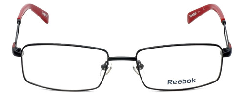 Reebok Designer Eyeglasses R2021-BLK in Black 54mm :: Rx Single Vision