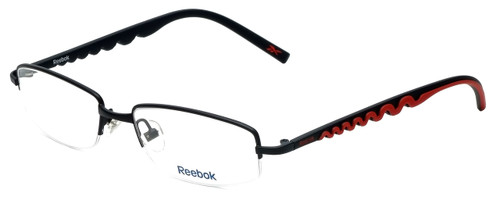 Reebok Designer Eyeglasses R1001-BLK in Black 52mm :: Progressive