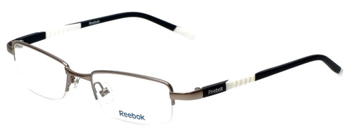 Reebok Designer Eyeglasses R1003-GUN in Satin-Gunmetal 50mm :: Progressive