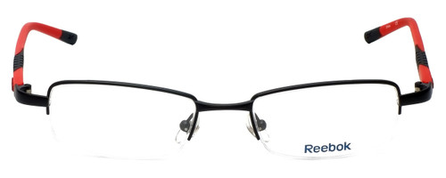Reebok Designer Eyeglasses R1003-MBR in Matte-Black 50mm :: Progressive
