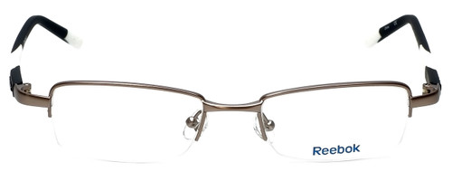 Reebok Designer Reading Glasses R1003-GUN in Satin-Gunmetal 50mm