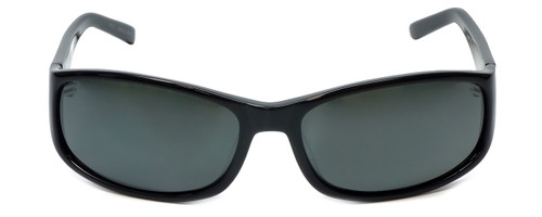 Reptile Designer Polarized Sunglasses Crocodile in Black with Grey Lens