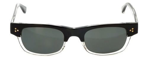 Reptile Designer Polarized Sunglasses Gilbert in Black-Clear with Flash Mirror Lens