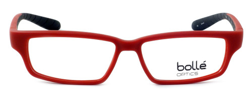 Bollé Volnay Designer Reading Glasses in Matte Red & Black