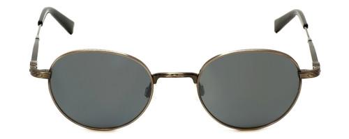 Reptile Designer Polarized Sunglasses Pinzon in Antique-Silver with Flash Mirror Lens