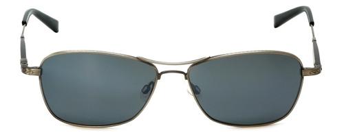 Reptile Designer Polarized Sunglasses Rabida in Antique-Silver with Flash Mirror Lens