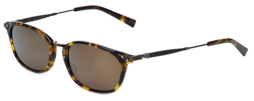 Reptile Designer Polarized Sunglasses Wolf in Tortoise with Gold Mirror Lens