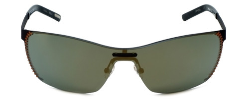Renoma Designer Sunglasses Remus 4560 in Black with Gold Mirror Lens