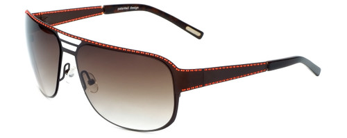 Renoma Designer Sunglasses Ryan 9530 in Brown with Brown Gradient Lens