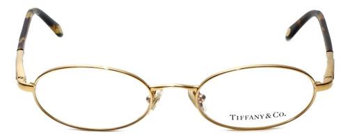 Tiffany Designer Eyeglasses TF1002-6002 in Gold 49mm :: Rx Single Vision