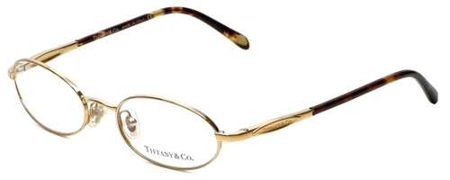 Tiffany Designer Eyeglasses TF1002-6002 in Gold 49mm :: Progressive
