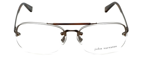 John Varvatos Designer Reading Glasses V102 in Brown 60mm