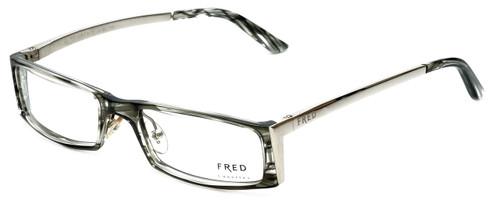 Fred Lunettes Designer Eyeglasses St. Moritz C1-002 in Grey-Marble 52mm :: Progressive