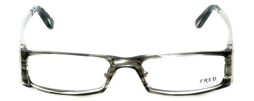 Fred Lunettes Designer Reading Glasses St. Moritz C1-002 in Grey-Marble 52mm