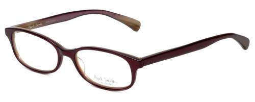 Paul Smith Designer Eyeglasses Paice-SNHRN in Red 51mm :: Progressive