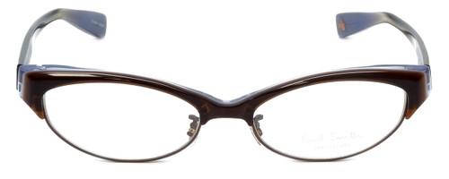 Paul Smith Designer Eyeglasses No color code on framePS412 in Brown 50mm :: Progressive